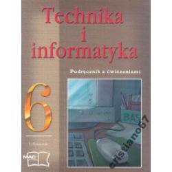 Technika i informatyka Podręcznik kl 6 NOWY