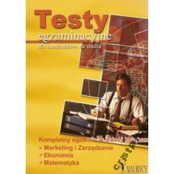 Testy egzaminacyjne dla kandydatów na studia NOWA