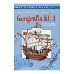 Sprawdziany wiedzy i umiejętności Geografia 1 gi