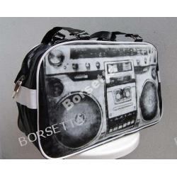 Torba Kufer  OLD SCHOOL Magnetofon  Bronx  TANIO