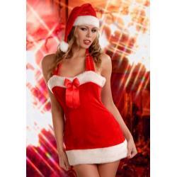 Santas Lady Sukienka Mikołajki