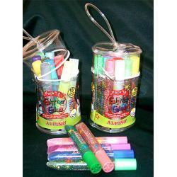 Brokat neonowy w kleju  6 kolorów/10,5 ml różne kolory
