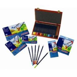 Aqualine Kredki ołówkowe-akwarelowe (36 kolory)