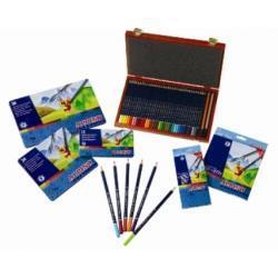 Aqualine Kredki ołówkowe-akwarelowe w kartonowym opakowaniu (24 kolory)