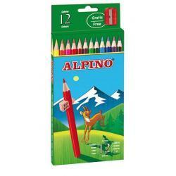 Clasisic - kredki ołówkowe cedrowe, w kartonowym opakowaniu (12 kolorów)