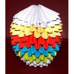 Jajko 3D - Origami 3D