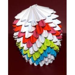 Jajko 3D - Origami 3D 2