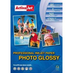 Papier Photo bły resin A6 5szt 260g AP6-260GR5