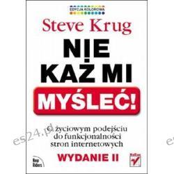 Nie każ mi myśleć! Steve Krug
