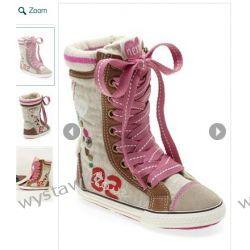 NOWE buciki na jesień NEXT rozmiar 6 (stopa: 14-15 cm)
