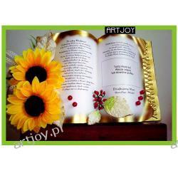 Wspaniała księga okolicznościowa - podziękowanie ze zdjęciem