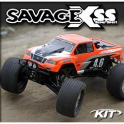 HPI KIT SAVAGE X SS 4.6 K4.6 ENGINE AND NITRO GT-2 TRUCK BODY [862]
