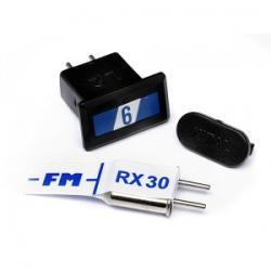 HPI CRYSTAL SET (BLUE BAND FM27.255MHZ) - zestaw kwarców BLUE 6 [80656]