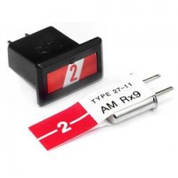 HPI CRYSTAL SET (RED AM27.045MHZ) - zestaw kwarców RED 2 [80602]