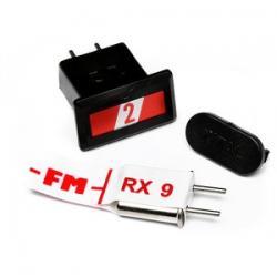 HPI CRYSTAL SET (RED BAND FM27.045MHZ) - kwarce zestaw RED 2 [80652]