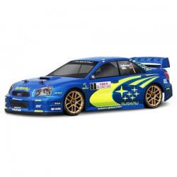 HPI SUBARU IMPREZA WRC 2004 MONTE CARLO RALLY EDITION BODY - karoseria (190MM/WB255MM)