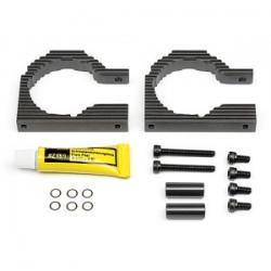 HPI HD HEATSINK MOTOR MOUNT PLATE 10mm (40mm/szare) -wentylowane mocowanie silnika (SAVAGE FLUX) [102401]