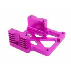 HPI HEAVY DUTY HEATSINK ENGINE MOUNT (6061S/Purpurowe) -wentylowane mocowanie silnika (SAVAGE ) [86399]