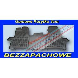 FORD TRANSIT CUSTOM DYWANIKI GUMOWE KORYTKO 3cm