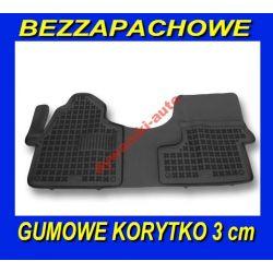 MERCEDES SPRINTER II 2 DYWANIKI GUMOWE KORYTKA 3cm