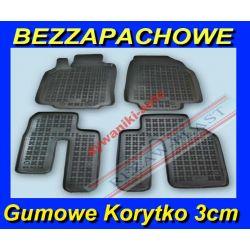 MAZDA CX9 od 2007 DYWANIKI GUMOWE KORYTKA 3cm