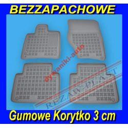 BMW 1 E87 SZARE DYWANIKI GUMOWE KORYTKA 3cm
