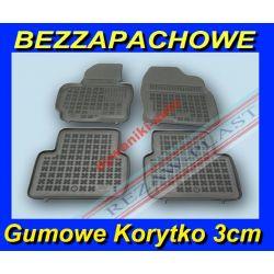 MAZDA CX5 od 2012 DYWANIKI GUMOWE KORYTKA 3cm