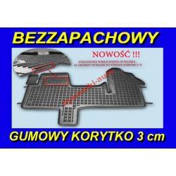 IVECO DAILY od 2006 DYWANIKI GUMOWE KORYTKA 3cm