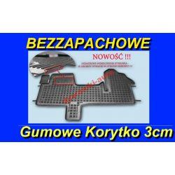 RENAULT MASTER III 3 DYWANIKI GUMOWE KORYTKA 3cm