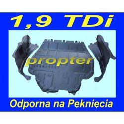 VW GOLF 4 IV BORA OSŁONA SILNIKA +SPINKI TDi SDi