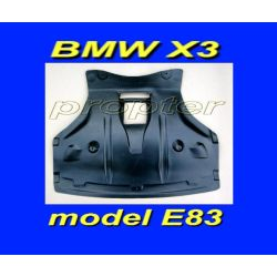 BMW X3 E83 2003-2010 OSLONA SILNIKA POD SILNIK