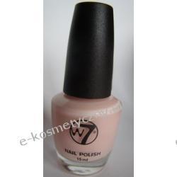 Trwały lakier do paznokci marki W7 - odcień 66 chiffon - delikatny, różowo-mleczny