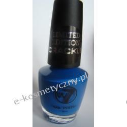 Trwały lakier do paznokci marki W7 - odcień 19 neon blue- niebieski