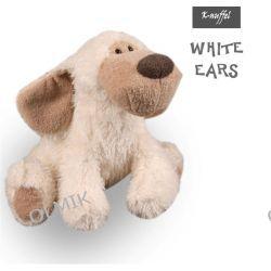 Przytulanka PIESEK White Ears K-nuffel