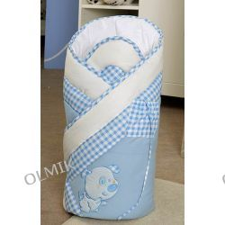 Rożek DOGS BLUE LAYETTE Prestige XL 100 x 100 cm Feretti