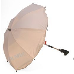 Parasol z filtrem UV wysoka ochrona faktor 30 srebrny Kees