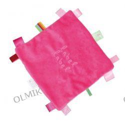 Kocyk przytulanka Pink z metkami Label Label