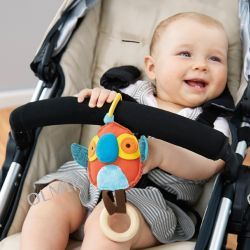 Zabawka do wózka lub fotelika Papuga SkipHop