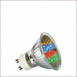 Żarówka LED Multicolor (7 barw) 1W GU10