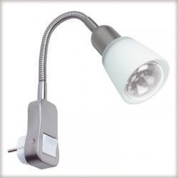 Flexus II lampka z wtyczką max.1x40W E14 chrom-mat