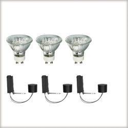 2Easy zestaw bazowy LED 3x1W GU10 Ws