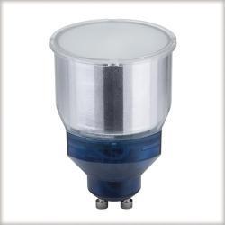 Żarówka energooszczędna 11W GU10 ciepłe światło, satynowa