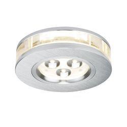 Premium EBL Liro LED zestaw 3x3W okrągła