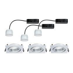 Coin LED oprawki wychylne 3x6,8W 2700K 230V 51mm alu
