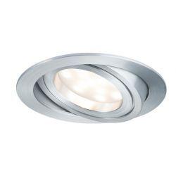 Coin LED oprawka wychylna 1x6,8W 2700K 230V 51mm alu