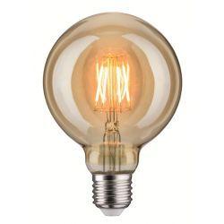 Żarówka LED Globe 95 6,5W E27 230V złoty 1700K