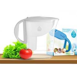 Dzbanek do filtrowania wody Dafi ATRI 2,5 L /biały/