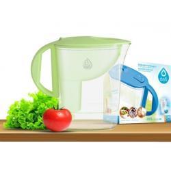 Dzbanek do filtrowania wody Dafi ATRI 2,5 L /zielony/ + filtr