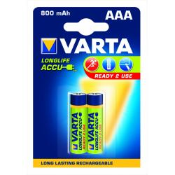 Akumulator LONGL.ACCU 56703 2 800mAh,AAA,R2U HR03/AAA