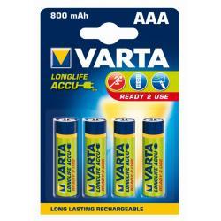 Akumulator LONGL.ACCU 56703 4 800mAh,AAA,R2U HR03/AAA